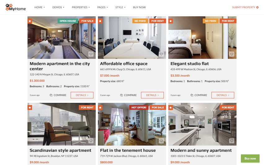 Real Estate Site 2 listing by kaplanmediagroup.com