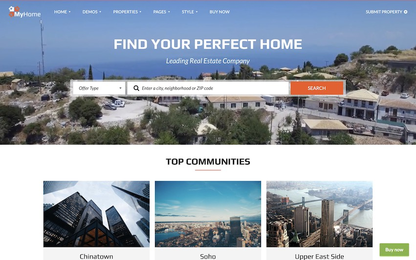 Real Estate Site 8 Search Listings - by kaplanmediagroup.com