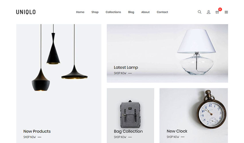 Shopify Store - Lights and Lamps Store by kaplanmediagroup.com