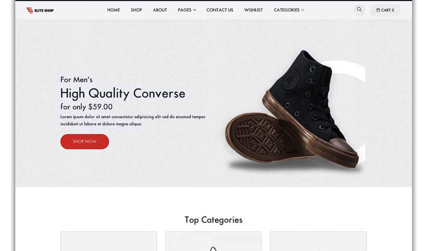 Shopify Shoe Store | We Create Your Shopify Store | kaplanmediagroup.com